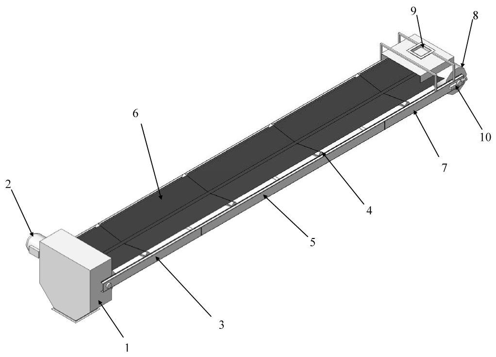 устройство ленточного конвейера